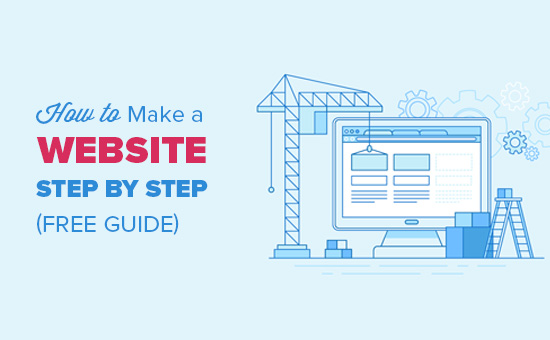 How to Make a Website A Complete Guide (2018) - by LukaB​