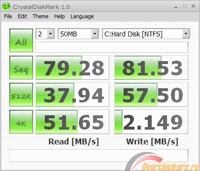 CrystalDiskMark — как проверить скорость диска